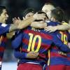 برشلونة يحقق فوزاً صعباً على لاس بالماس بهدفين لهدف