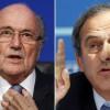 الفيفا يعاقب بلاتر وبلاتيني بالإيقاف لثماني سنوات