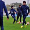 بالصور : مران صباحي للهلال بعد الفوز على النصر وكواك يشارك في التدريبات