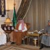 الرئيس العام يستقبل البعداني رئيس نادي الربيع