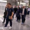 وصول نادي باريس سان جرمان الى الدوحة