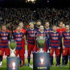 برشلونة يواصل عزفه برباعية في مرمى بيتيس