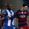 لاعب اسبانيول: حاولت إيقاف ميسي بكل الطرق
