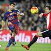 برشلونة يكتسح بيلباو بسداسية في لقاء شهد هاتريك الاورغوياني سواريز
