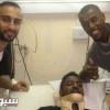 ثنائي النصر يطمئنان على صحة سعود حمود