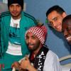 لاعبو الشباب يزورون المشجع الشهراني