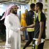 الحايلي يقدم للاعبي الاتحاد مكافأة الفوز على نجران