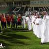 بالصور : رئيس الأهلي السابق يدعم تحضيراته قبل مواجهة الخليج