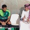 بالصور : نائب رئيس الاهلي يجتمع بالأجهزة الإدارية والفنية واللاعبين