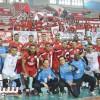 السويحلي الليبي يكتسح الاتحاد في البطولة العربية لكرة الطائرة