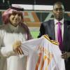 وزير الرياضه السوداني يزور نادي الشباب