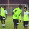 الخليج يختتم تدريباته للرائد وانتظام لاعبي الدانة في المعسكر