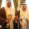 أمير الرياض يكرم إدارة نادي الهلال