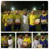 أعضاء برنامج هدية رياضي في ضيافة نادي النصر ومساعد كانديا يوجه رساله