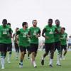 المنتخب السعودي يجري مرانه الأخير قبل السفر لابوظبي