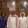 بالصور : رئيس النصر يتابع التحضيرات و يحتفي بمدير المركز الإعلامي