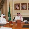 الرئيس العام يستقبل رئيس مجلس إدارة نادي الشباب