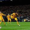 برشلونة يكسب الذهاب أمام اتلتيكو مدريد بصعوبة
