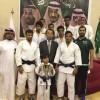 دفاع عن النفس الرياض يحقق المركز الأول