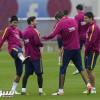 تشكيلة برشلونة في مواجهة اسبانيول