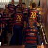 لماذا غاب ميسي وسواريز عن احتفالات برشلونة؟