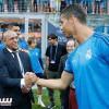 نجوم ريال مدريد السابقة تدعم الفريق في ميلانو
