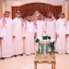 أمير منطقة مكة يستقبل مجلس إدارة النادي الأهلي