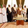 سمو أمير منطقة الرياض يستقبل إدارة نادي المجزل ويبارك الصعود لدوري جميل
