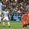 الأرجنتين تستهل مشوارها في الكوبا بالفوز على حاملة اللقب تشيلي