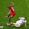 بالصور : تعادل البرتغال وايسلندا بهدف لمثله