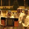 إدارة الفيصلي تزور عضو الشرف العثيم
