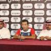 """بالصور : هجر يقدم مدربه التونسي """"محمد المعالج"""" في مؤتمر صحفي"""