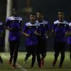 بالصور : هجر يواصل برنامجه الإعدادي بمشاركة لاعبي الأولمبي