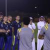 بالصور : النصر يدشن تدريباته بالجهاز الفني الجديد وحضور الرئيس و نائبه