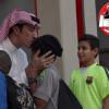 نادي الرياض يستقبل أبناء جمعية إنسان