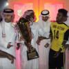 شباب الأتحاد ينتزع كأس بطولة دورة شعلة هجر كأس الرياضي لليرموك الفريق المثالي