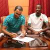 بالصور : الإتفاق يجدد عقد عتين لثلاث سنوات ويطلب جمعان النصر