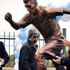 نصب تمثال لـ ميسي في أشهر شارع بالعاصمة الأرجنتينية المسمى بـ«ممر العظماء»