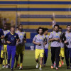بالصور : مران لياقي وتكتيكي للاعبي النصر بمتابعة إدارية وشرفية