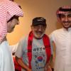 رئيس نادي الرياض يستقبل اللاعب السابق مبارك الناصر