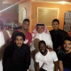 رئيس الاتحاد ونائبه يلتقيان بمجموعة من لاعبي الفريق الأول