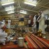 أعضاء نادي الحي بصوير يزورون متحف الغشم و يزيلون تشوهات سور النادي