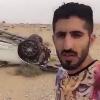 ماجد المرشدي ينجو من حادث مروري مروع