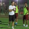 الفيصلي يواصل تحضيراته وانغوس يجري مناورة بين اللاعبين