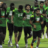 بالصور : الأخضر يواصل معسكره في قطر ويواجه لاوس ودياً