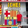 برشلونة يضم باكو ألكاسير مهاجم فالنسيا