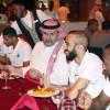 الامير عبدالله بن مساعد يزور معسكر المنتخب ويتناول الغداء مع اللاعبين