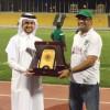 قطر يهنئون الاهلي بالثلاثية التاريخية والأهلي يكرمهم بالثلاثة