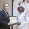 السفير الاسترالي في الرياض ضيفاً على أحمد عيد