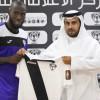 هجر يقدم الغاني نابي سوما واللاعب يطالب الجماهير بدعم الفريق